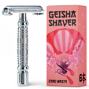 Geisha Shaver Butterfly Silver.